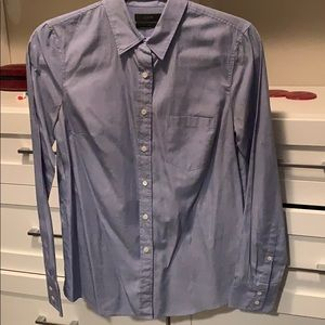 Blue JCrew button down